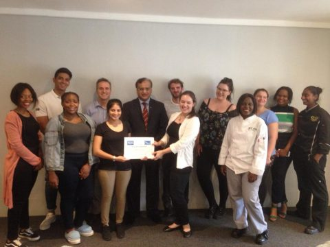 Molecular club receives certificate of Appreciation