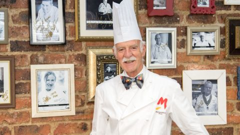 Anton Mosimann OBE at HTA School of Culinary Art