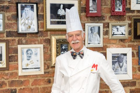 Anton Mosimann OBE at HTA School of Culinary Art